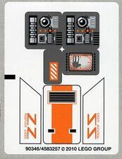 LEGO 8089 - STAR WARS - Hoth Wampa Cave - STICKER SHEET
