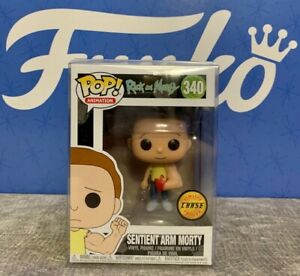 Rick-and-Morty-340-Sentient-Arm-Morty-CHASE-Funko-Pop-WITH-POP-PROTECTOR