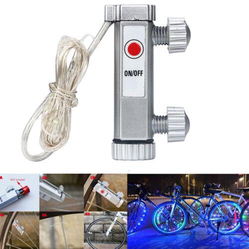 20 LED Bike Bicycle Cycling Flashlight Warning Safety Decor Wheel Spoke Light