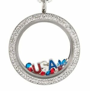New Origami Owl Large Silver Twist Living Locket Faces and Bases FREE SHIPPING