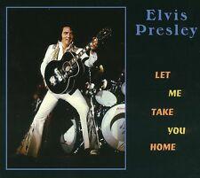 RARE CD IMPORT ELVIS PRESLEY-LET ME TAKE YOU HOME-MEMPHIS 1975-SON PARFAIT