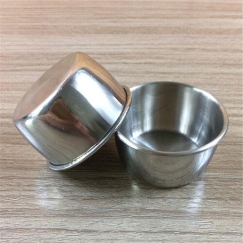 10//12pcs Sauce Cups Reusable Premium Dipping Bowls for Home Restaurant Dinner