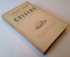 Alexandre Dumas Dictionary Of Cuisine - 1964 Rare Hardback With Dust Jacket