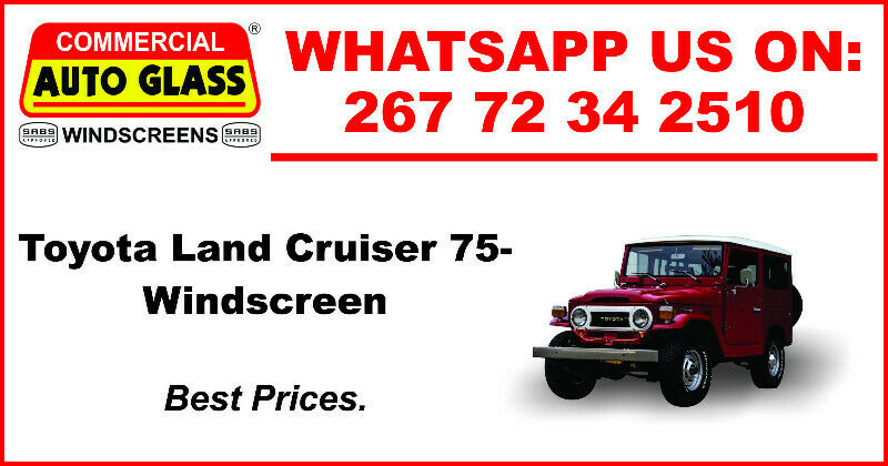 Windscreen For Toyota Land Cruiser 75 For Sale.