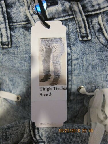 Elite Størrelse Fre 3 Lår Kvinder W Jeans Tie aphrodite nye ship tags Protegee pri r0PqwUYr