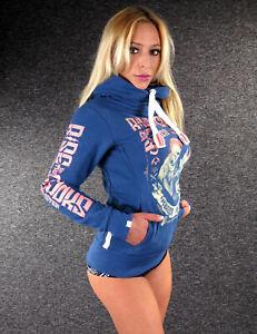 YAKUZA PREMIUM Damen Hoody GH-2540 Dunkelgrau Hoodies  Sweatshirts mit