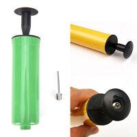 Soccer Football Basketball Ball Handy Inflating Air Pump Needle Adapter Sport hc