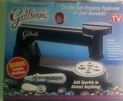 Cathy Mitchell's GeMagic Stud Setting Bedazzler Machine ...
