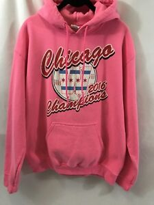 low priced e8f34 373ec Details about hoodie women's Pink Chicago W Champions Size M