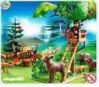 PLAYMOBIL 4208 Hochsitz mit Wildfütterung