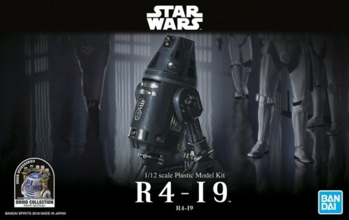 Bandai 5055364 112 Scale Star Wars Droid Collection Model Kit R4I9