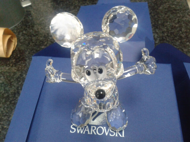 SWAROVSKI Mickey Mouse Disney Showcase Collection 687414 Comme neuf IN BOX Immaculée