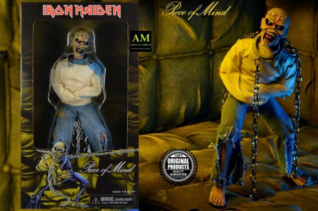 """NECA - IRON MAIDEN - PIECE OF MIND - EDDIE 8"""" CLOTHED Figur - BOX NEU/OVP"""
