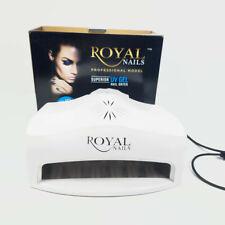 54 Watt Royal Nails Professional UV Light GEL and Acrilic Nail Dryer ...