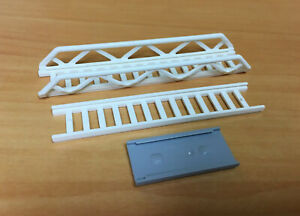 Lego City Extendable ladder Side Supports White Part Set 4207 11299 Accessory