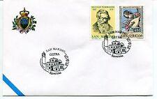 2001-09-21 San Marino Gifra Ravenna ANNULLO SPECIALE Cover