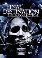 Final Destination: 5 Film Collection (DVD, 2015, 5-Disc Set) - NEW!!