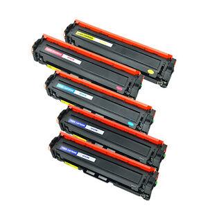 5pack-Colors-Toner-Set-for-HP-CF411A-CF413A-LaserJet-M377dw-M477fdw-M477fnw