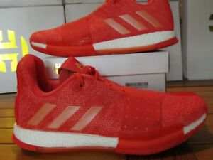Adidas-Harden-Vol-3-INVADER-Coral-Red-Boost-8-5-D96990-James-MVP-ultra-bhm-blk