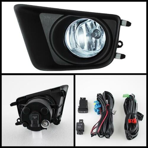 For 2014-2018 Toyota Tundra Clear OE Fog Lights Bumper Driving Lamp+Switch+Bulbs