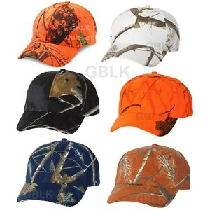 0bc7b85b5 Kati Structured Camo Cap SN200 Mossy Oak Blaze Orange Realtree AP ...