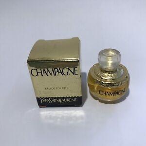 Saint Détails Laurent Parfum 4ml Ysl Yves Champagne Edt Miniature Sur drBoQCeWx