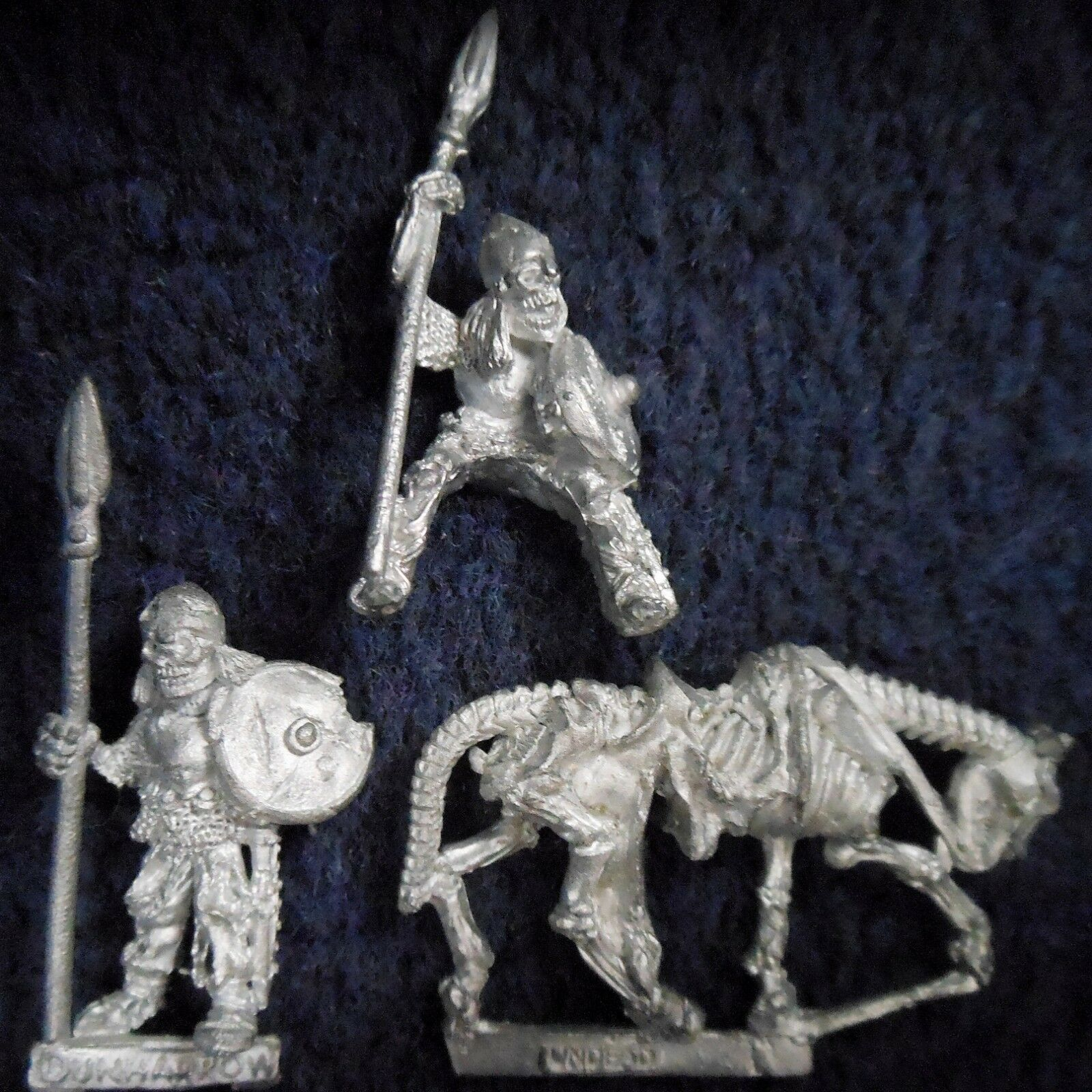 1985 Undead ME72 Dead Men of Dunharrow V2 Lord of the Rings Skeleton Citadel D&D