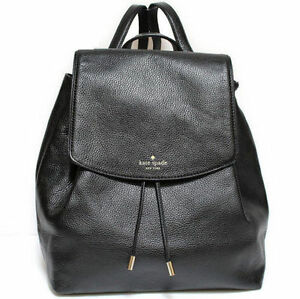087410e2bebb Kate Spade Mulberry Street Small Breezy Black Pebbled Leather Backpack
