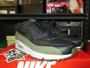 Details about SALE NIKE AIR MAX 90 HAL PATCHES AH9974 002 BLACK MEDIUM OLIVE SZ 8 13 NEW