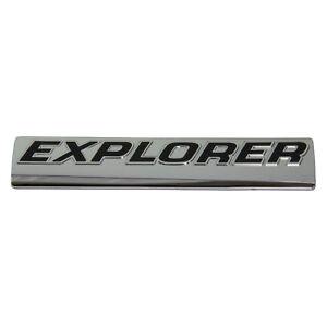 "2006-2010 Ford Explorer Chrome /""EXPLORER/"" Nameplate emblem OEM 6L2Z-7842528-B"