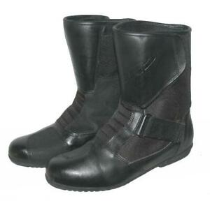 """"""" ROAD """" Herren- Motorradstiefel / Biker- Stiefel / Boots in schwarz ca. 44,5"""