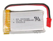 3.7v 1100 mAh rechargeable Lipo Battery JST-Plug For RC Drone Helicopter 903048