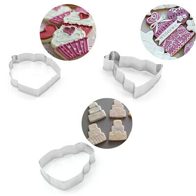 1PC Cookie Cutter Eiffel Tower Biscuits Mold Baking Chocolate Candy Mould Decor