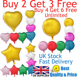 18-034-Heart-Star-Round-Shape-Float-Helium-Foil-Balloons-For-Party-Birthday-Wedding