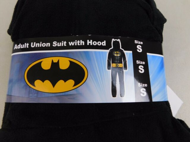 095efb46e2b Briefly Stated Black Jumpsuit Men Sz S Batman Dark Night Sleepwear O02 for  sale online