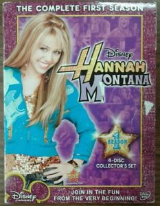 Hannah-Montana-The-Complete-First-Season-DVD-2007-4-disc-set-w-o-outer-case