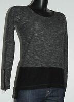 T-shirt gris chiné manches longues ZARA Collection Taille M Bon état