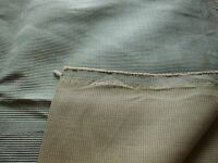 Heavy Weight Polyester Upholstery Fabric-ribbed Texture -light Green 19 By 56