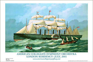 Clipper-ship-Great-Eastern-poster