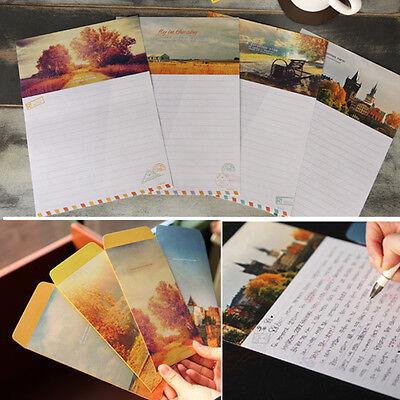 Nice Nature Landscape Letter set - 4sh Writing Stationery Paper 2sh Envelope