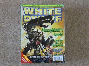 Ambitieux White Dwarf Magazine Numéro 248-afficher Le Titre D'origine Haute Qualité