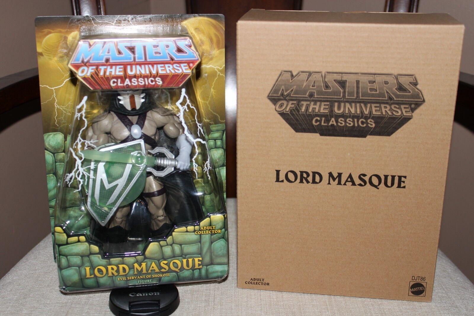 Masters of the Universe Classics Lord Masque MOTUC MIB Brand Brand Brand New   9c75c4