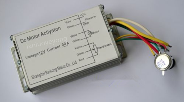 12 V 30 A DC Motor Speed Control Pulse Width Modulator PWM HHO RC Contrôleur