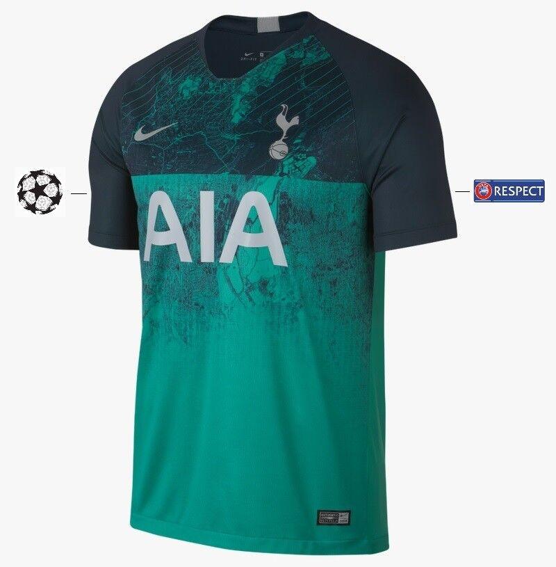 Trikot Nike Tottenham Hotspurs 2018-2019 Third UCL UCL UCL - Son 7  Spurs 3rd 560707