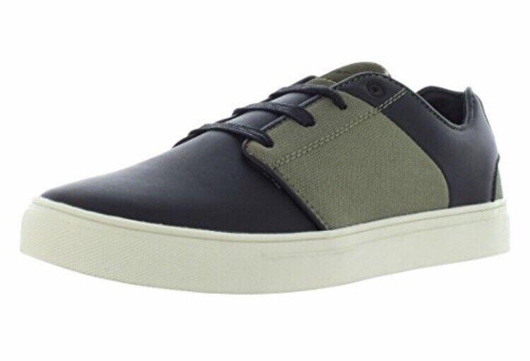 NIB Men's Talla 9.5 Creative Recreation Nemi zapatos negro Military Cr0950008