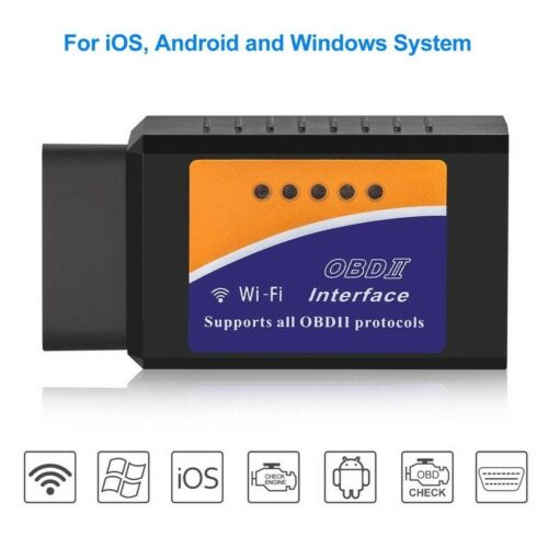 ELM327 WiFi OBD2 OBDII Car Diagnostic Scanner Code Reader Tool For IOS /& Android