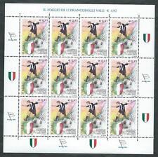 2003 ITALIA MINIFOGLIO JUVENTUS CAMPIONE D'ITALIA CALCIO MNH ** - ED
