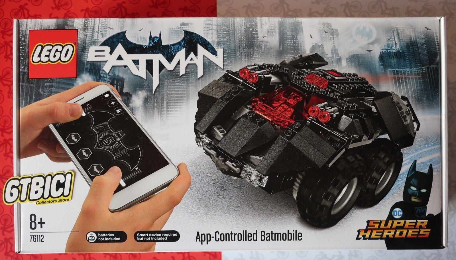 LEGO DC SUPER HEROES  APP- CONTROLLED BATMOBILE    Ref 76112  NUEVO A ESTRENAR aef703