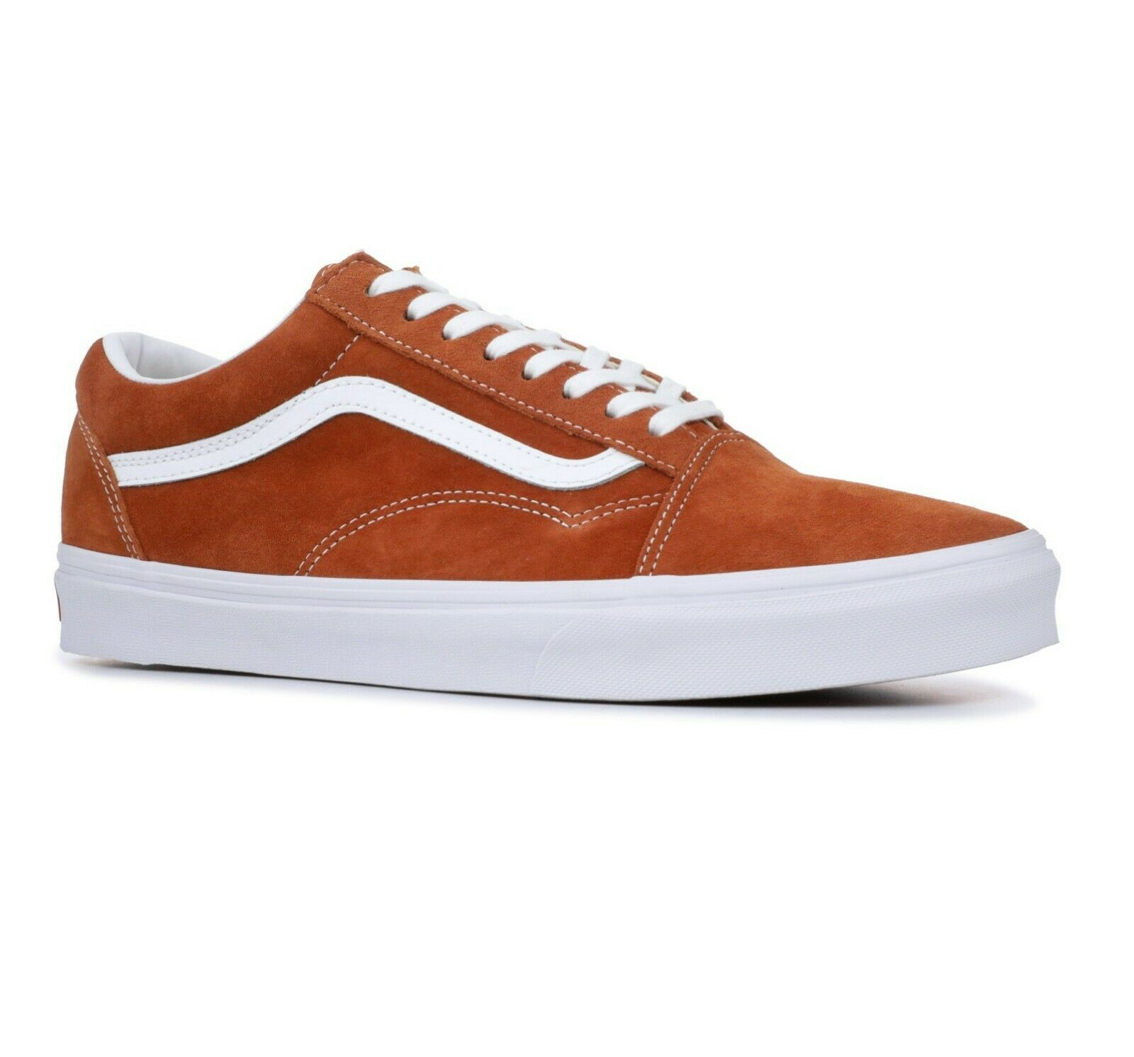 Vans Old Skool (Pig Suede) Suede) Suede) Leather Marronee VN0A38G1U5K Uomo Skate scarpe bee8fb