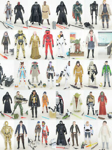 Star-Wars-Action-Figures-YOUR-CHOICE-Hasbro-3-75-034-Rogue-AWAKENS-Jedi-LINK
